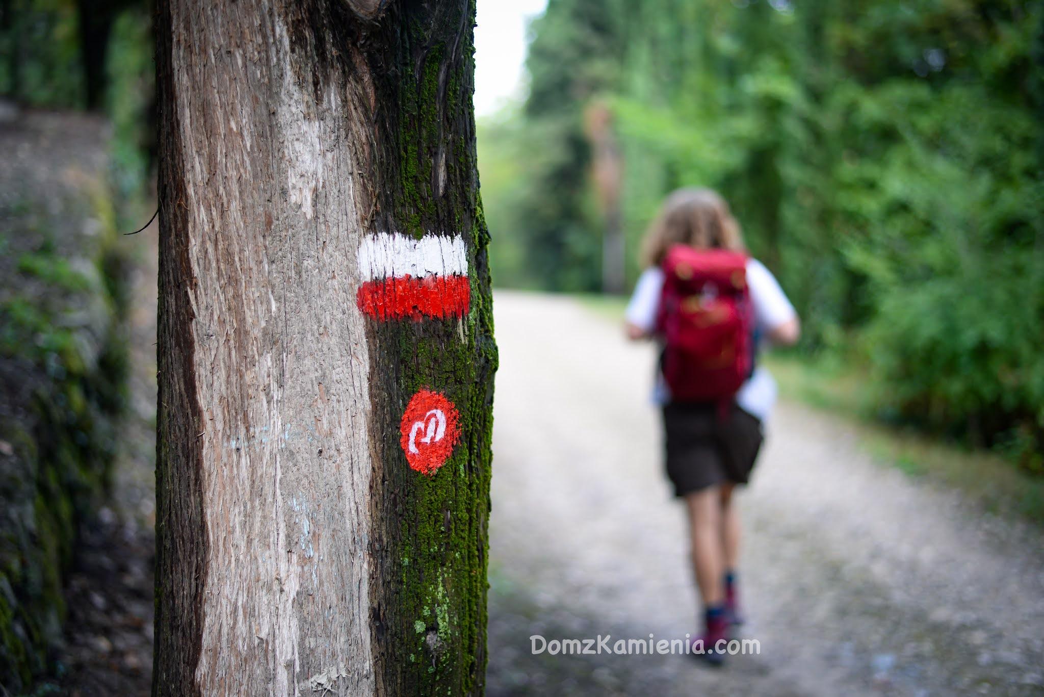 Trekking z Domem z Kamienia, szlak Dantego