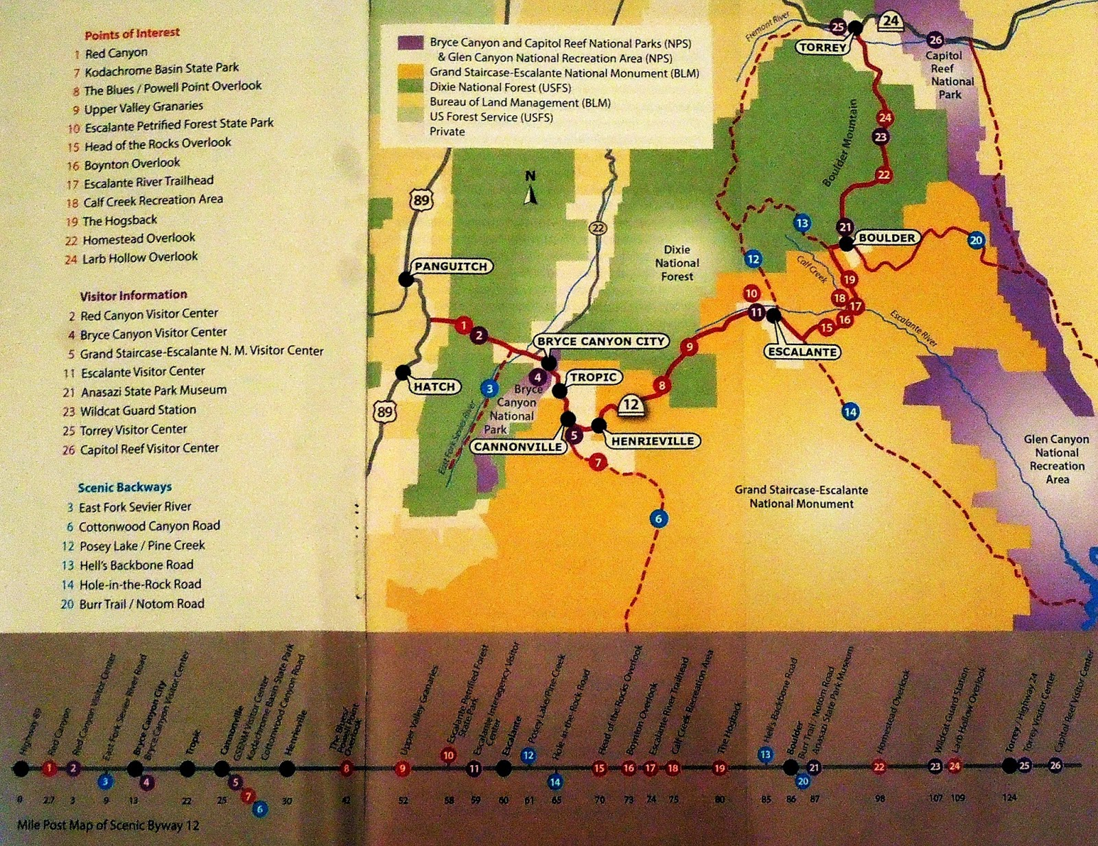 Focusing On Travel : An All American Road - Scenic UT 12 on us route 95 map, us route 32 map, us route 24 map, us i-71 map, us route 11 map, us route 202 map, los angeles highway map, us route 13 map, us route 33 map, 71 in missouri us map, us interstate 25 map, us route 15 map, us interstate 35 map, us route 60 map, us hwy map, colorado river on us map, us route 35 map, us interstate 75 map, north cascades highway map,