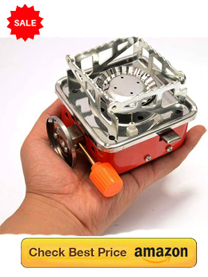 Smallest Gas Stove Burner