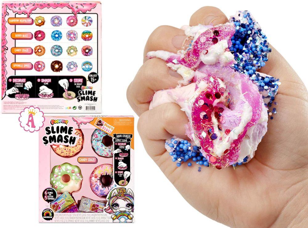 Пупси слайм пончики Poopsie Slime Smash Crunchy Donut Dunkin' Deuce