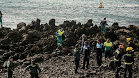 7 MIGRANTS FOUND DEAD OFF SHORE OF LANZAROTE