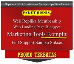 Dapatkan Website Landing Page Gratis jika anda mendaftar melalui link Web Replika saya Gorontalo
