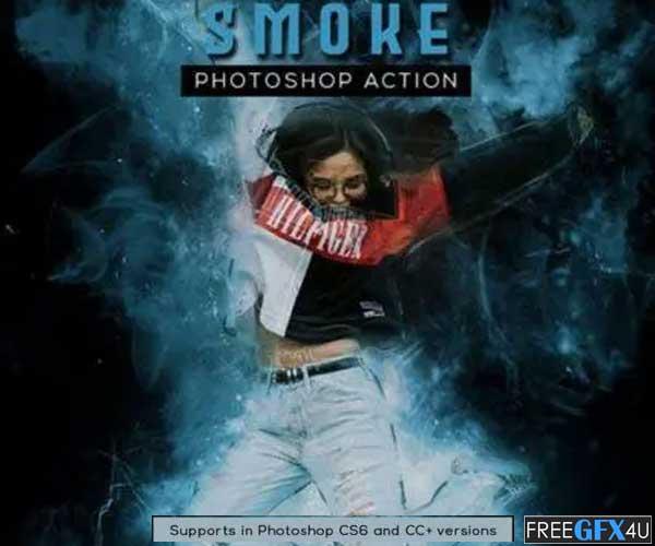 Smoke Photoshop Action