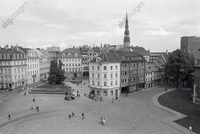 1985 год. Рига. Площадь 17 Июня (Домская площадь)