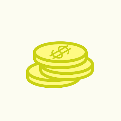 dollars on the floor