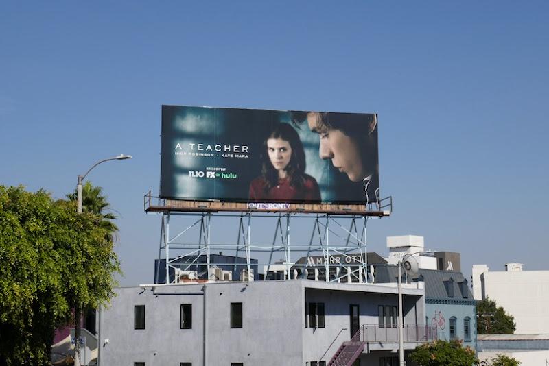 A Teacher FX on Hulu series billboard