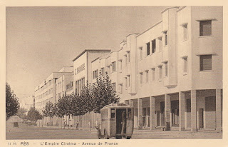 L'empire cinema Fes Morocco postcard postcard