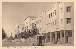 L'empire cinema Fes Morocco postcard postcard