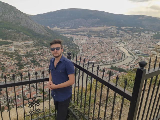 Harun İstenci Amasya'da Harşena Kalesinde...