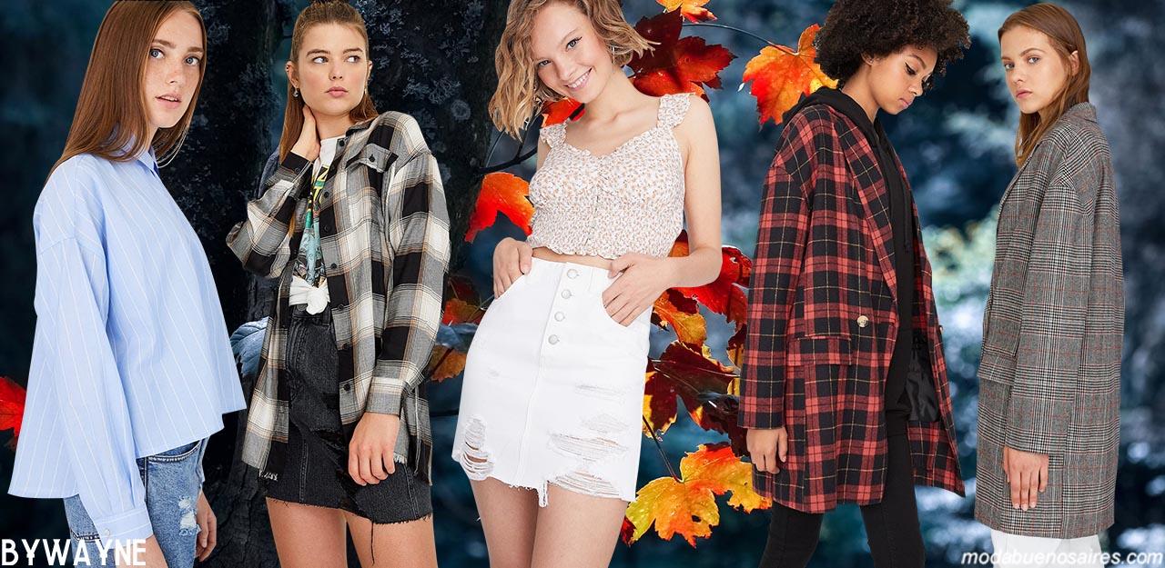 Moda juvenil otoño invierno 2020. Moda invierno 2020 juvenil.