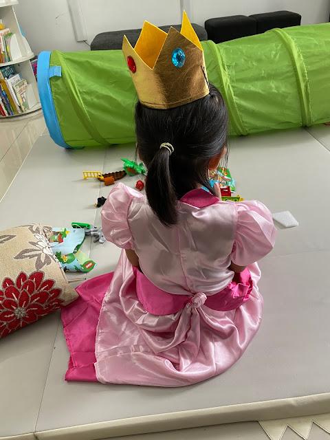 princess peach costume Lazada malaysia