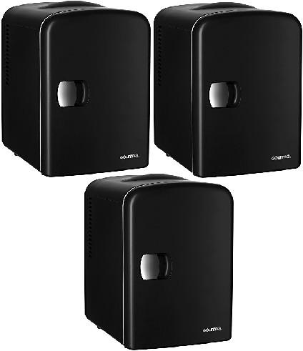 Gourmia Mini Fridges - 4Liter Energy-Saver Thermoelectric Car Refrigerators