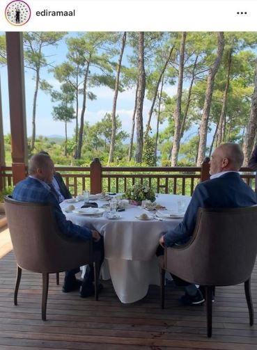 Rama visits Erdogan's Summer residence in Marmaris