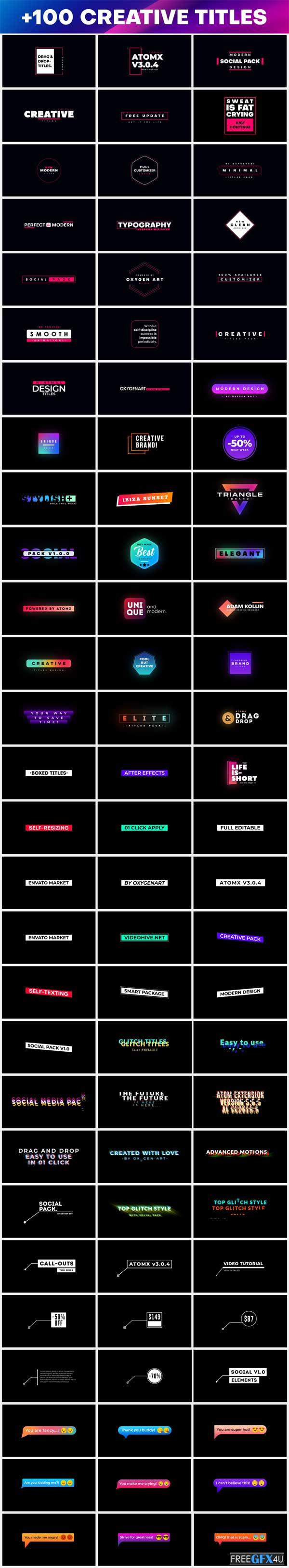 100+ Creative Titles