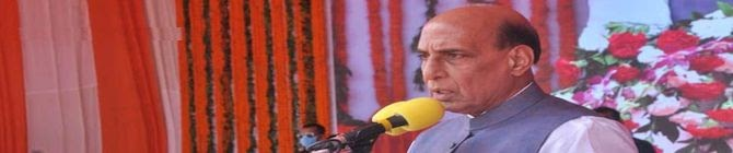 Defence Minister Rajnath Singh Launches Rs 1,710 Crore Projects In Lucknow