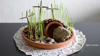 Miniaturni vstajenski vrt