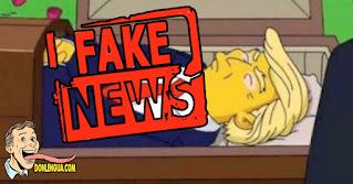 Trump en Los Simpsons