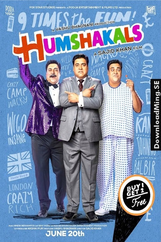 Humshakals (2014) Hindi 720p BluRay 1.1GB ESubs Download