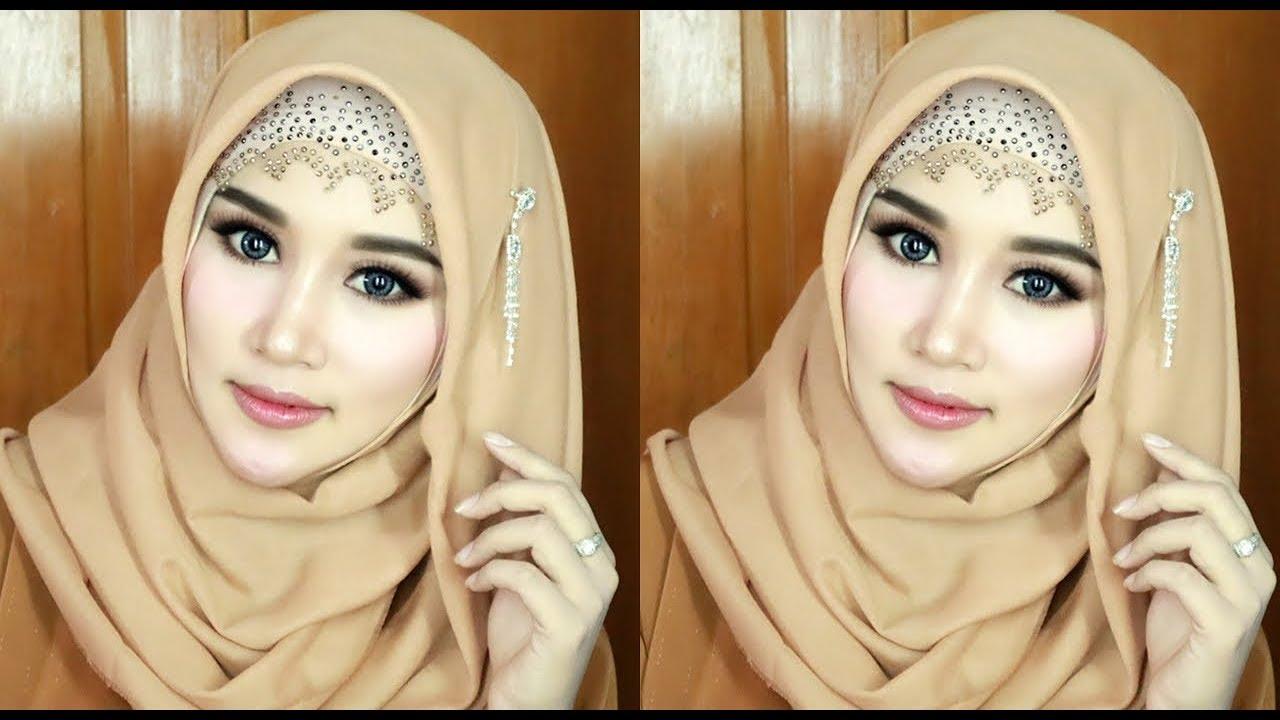 tutorial hijab segi empat 2021