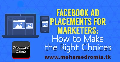 The best facebook ads placement for professional Marketers