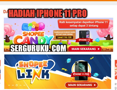 3 Game Shopee Beri Hadiah Iphone 11