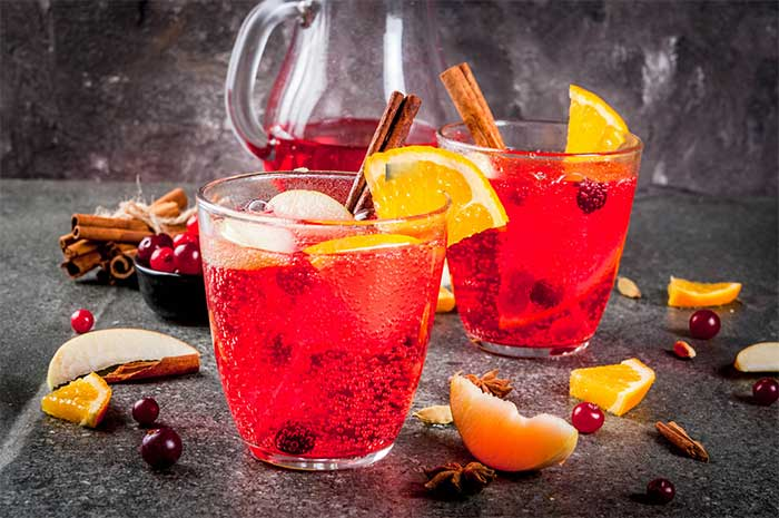 No Sugar Christmas Punch Recipe
