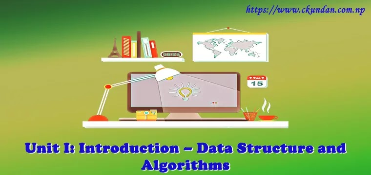 Introduction – Data Structure and Algorithms