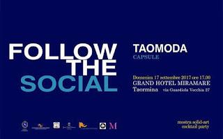 TAOMODA 2017 FOLLOW THE SOCIAL