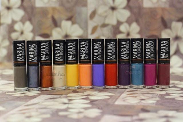 marina ruy barbosa coleção de esmaltes esmalte hits nail nails polish novela isis império