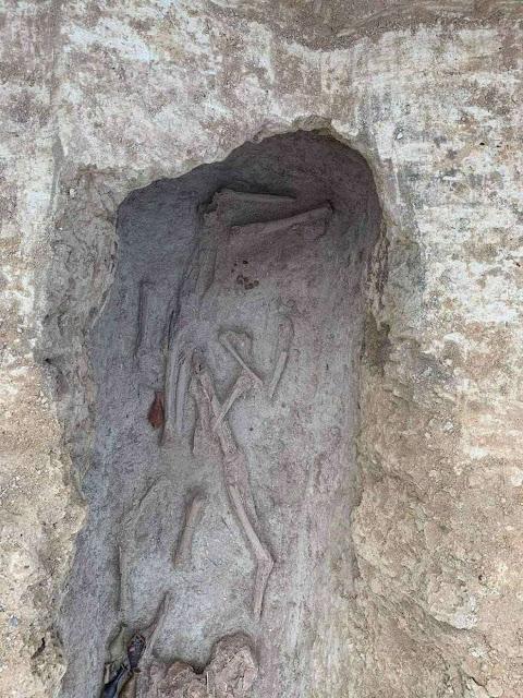 12th century BC cemetery found during Larnaca anti-flooding works