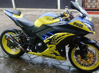 Modifikasi ninja 250 F1