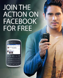 Globe FREEFB - Free Facebook and BBM When You Buy a Blackberry Smartphone