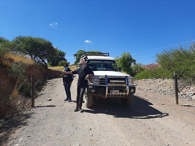 Zugang nach Esmoraca nun wieder ohne Schranke