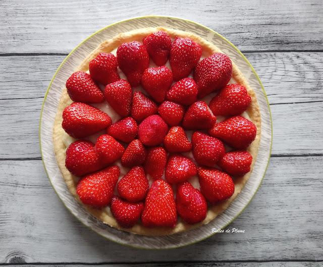 Tarte aux fraises (recette facile)