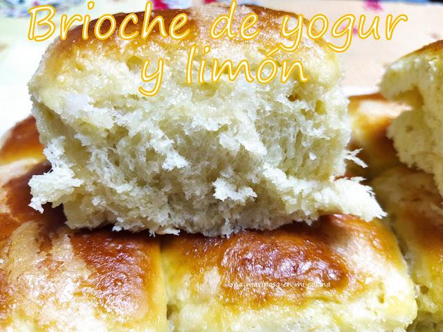 Brioche De Yogur Y Limón