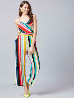 Multi-Color-Stripped-Jumpsuit