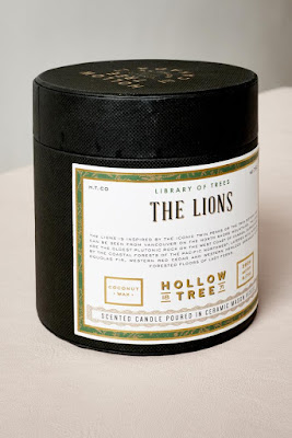 The Lions Coconut Wax Candle