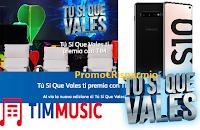 Logo Tu Si Que Vales ti premia con TIM: vinci gratis Smartphone,  Tim Music e la finale Tu Si Que Vales