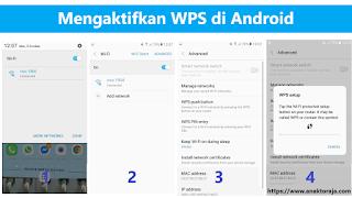Cara mengaktifkan wps di hp android