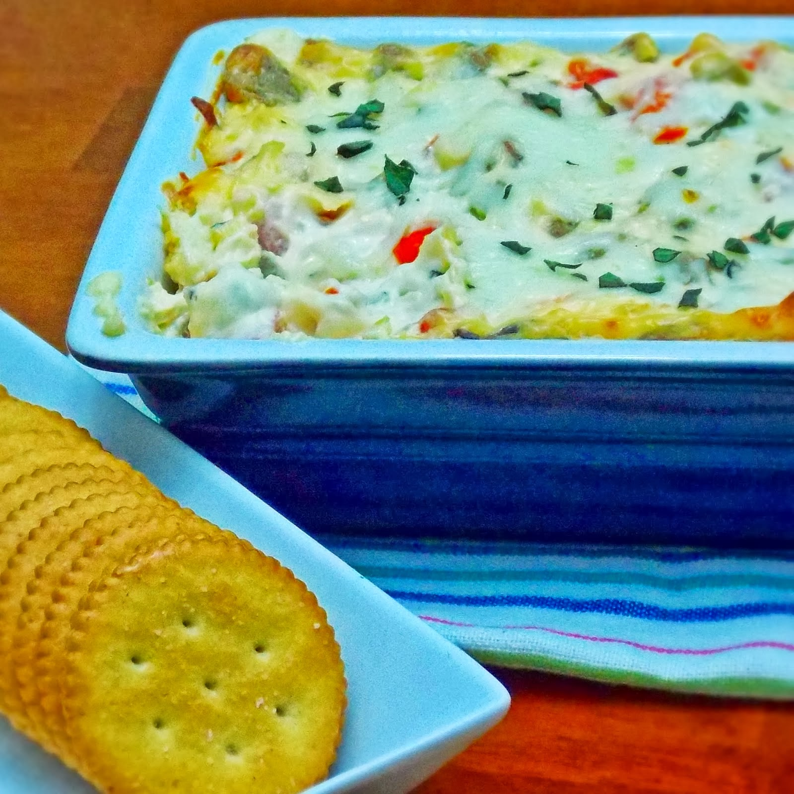 White Pizza Meatball Dip from The Life & Loves of Grumpy's Honeybunch
