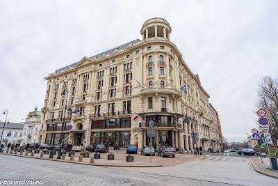 Hotel Bristol na Krakowskim Przedmieściu