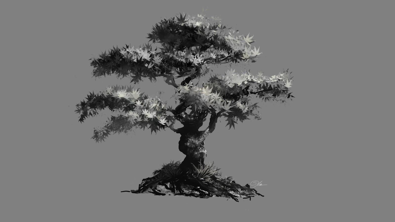 Fiction Depiction: Paint Study Trees