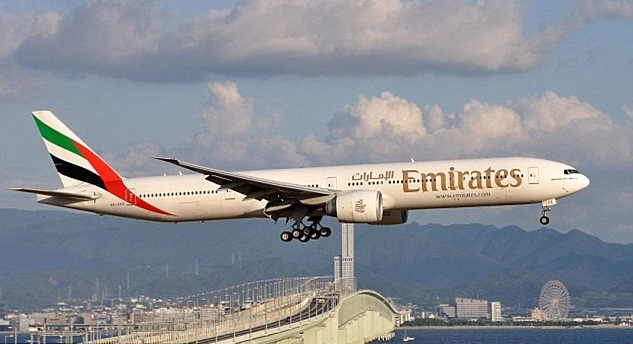Dubai to USA Flight