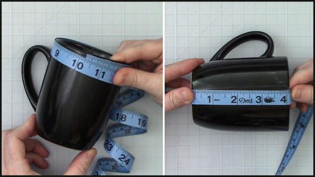 adhesive vinyl, coffee mug, wrapped mug, digital patterns, mug press
