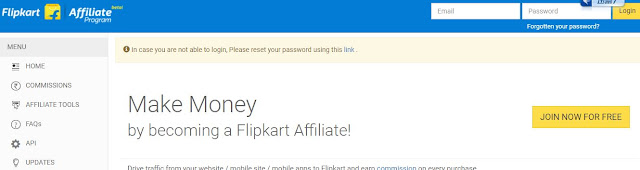 Earn Money By Flip Kart :---