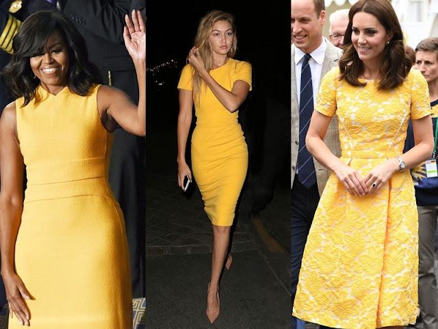 Looks com vestido amarelo