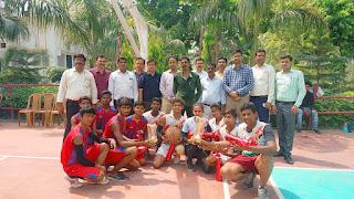 अंतर विद्यालय बास्केटबॉल प्रतियोगिता में ग्रीन हाउस विजयी | #NayaSaberaNetwork