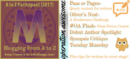 #AtoZchallenge 2017 Operation Awesome M is for 8 Misconceptions About Writing and Publishing