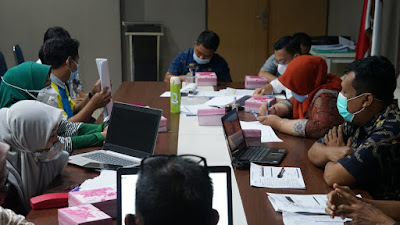 Hindari Kerumunan, Pemkab Sidrap Evaluasi Ranperdes APBDesa 2021 Secara Bertahap