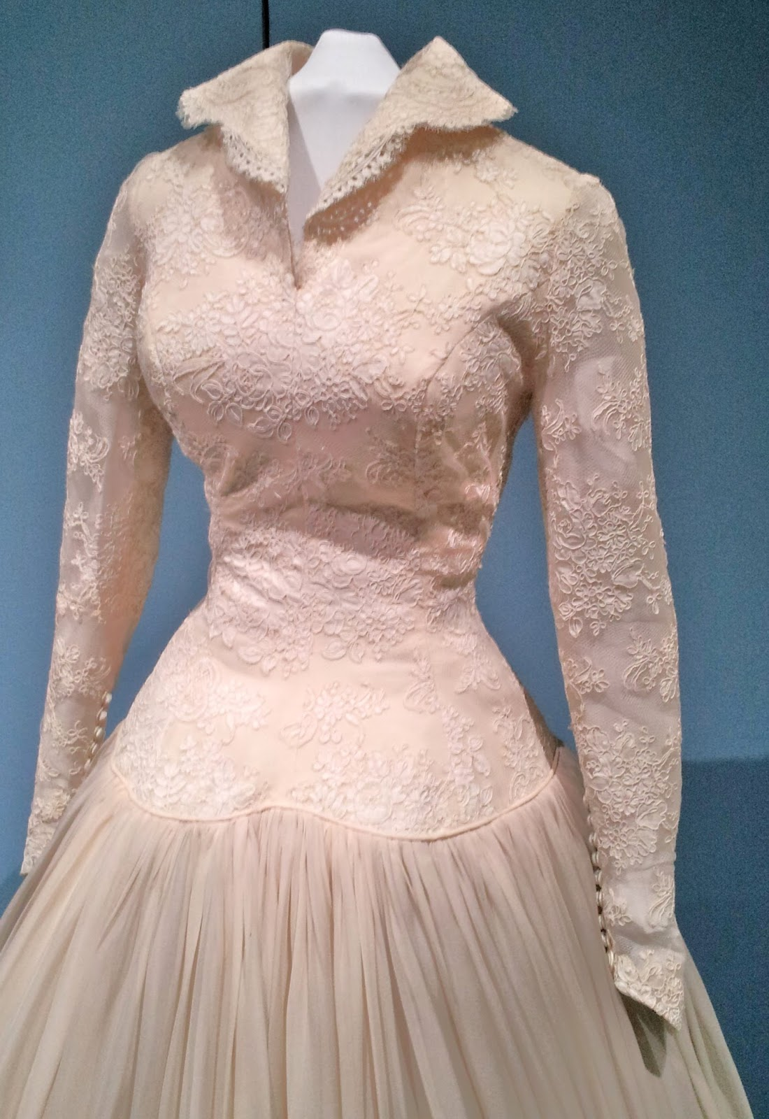 Pintucks Vintage Bridal Gowns On View At The Pasadena